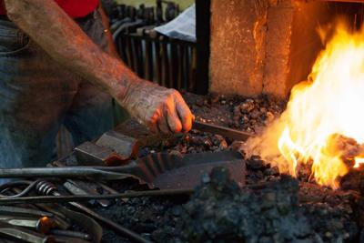 Leaving the forge: Rappahannock blacksmith Nol Putnam sketches life's next chapter