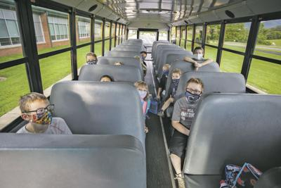 Back to school bus 2020
