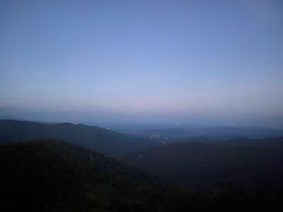 Shenandoah dusk