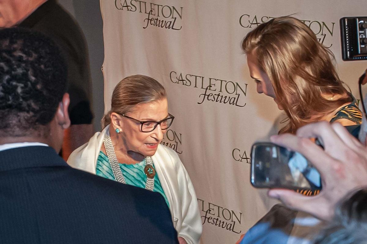 Ruth Bader Ginsburg at Castleton Festival