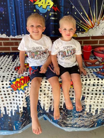 The Maness Boys celebrate birthdays!