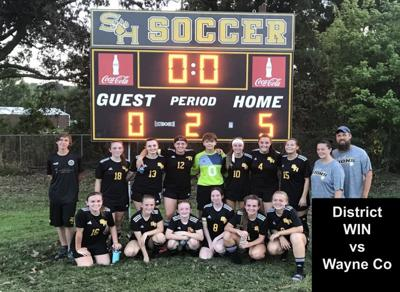 SHHS Lady Lions win first district soccer match