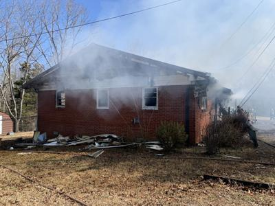 Emergency personnel respond to structure fire in Decaturville
