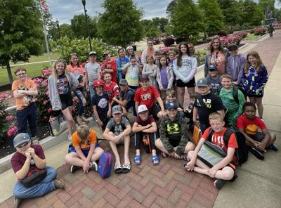 DES visits Savannah Water Park