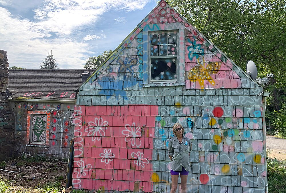 Vanessa Smith painted house 1