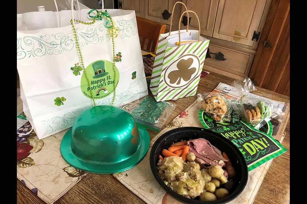 N2N St. Patrick's Day Lunch