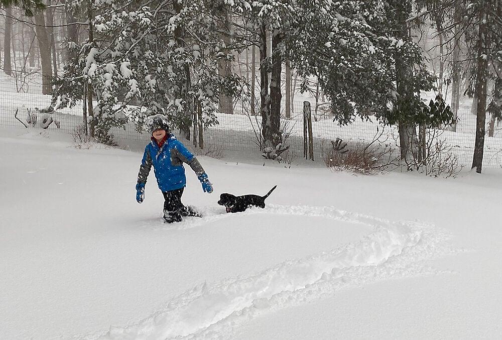 Snow Day 1 - Deann Grogan