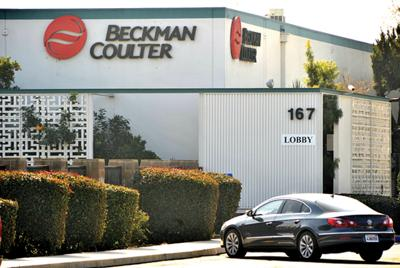 Company acquiring Beckman Coulter for $6 8 billion
