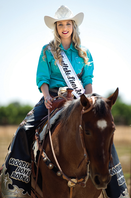 Local girl wins Woodlake Rodeo Queen title