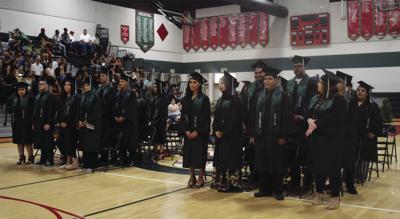 Alternative Education graduation ceremony at Lindsay High School
