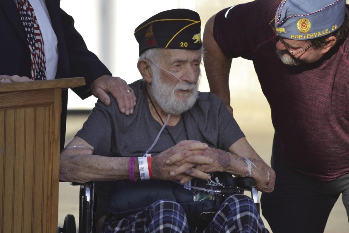 Veterans Memorial building dedicated to Ed Flory | News
