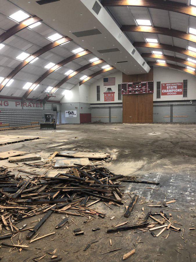 Goodbye old floors