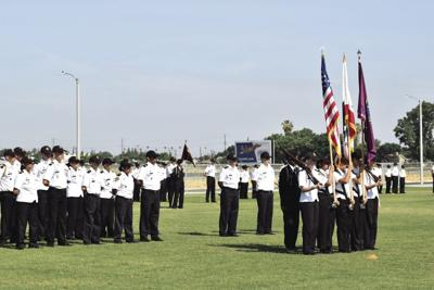 Porterville Military Academy cadets