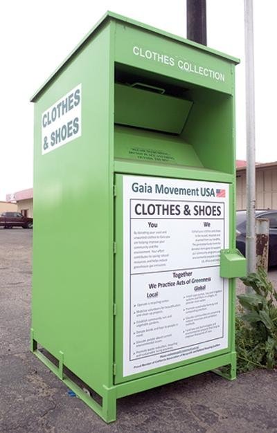 Local donation bins fuel debate | | recorderonline com