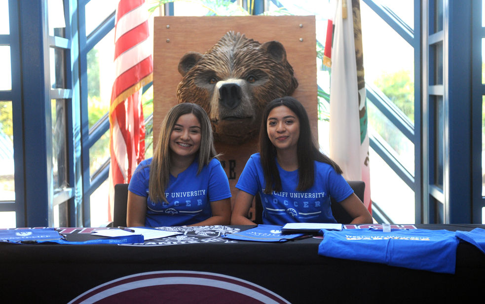 Destiny Rodriguez and Guadalupe Venegas