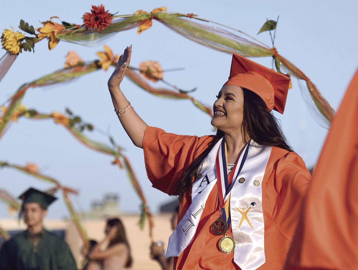 Porterville High School's Commencement ceremony