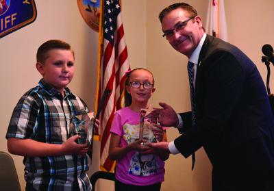 Sheriff honors five citizens