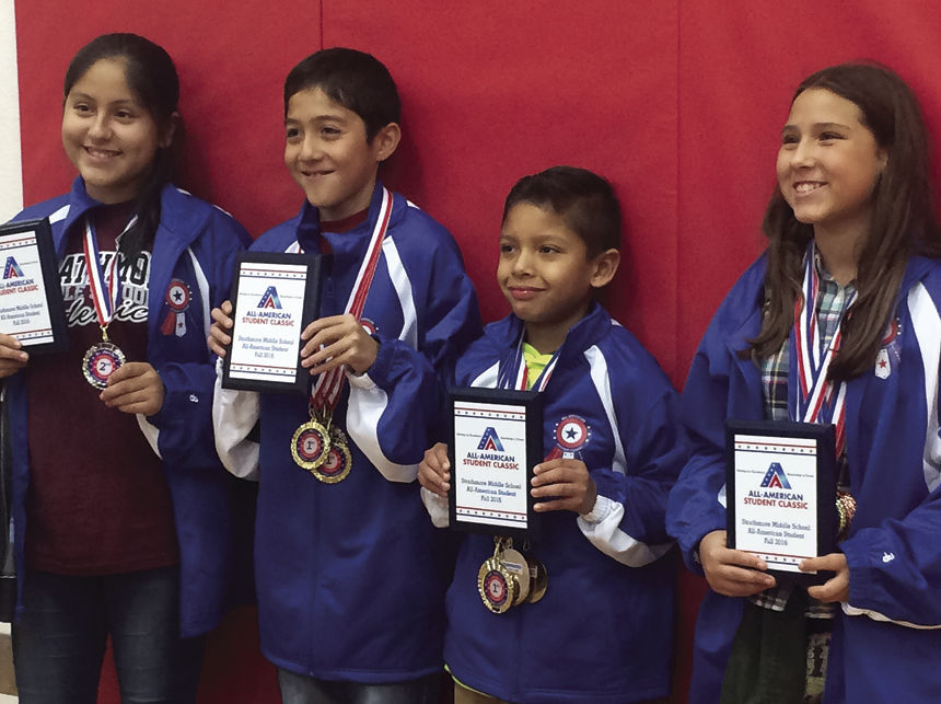 Strathmore Middle School competes in AASC | News | recorderonline com