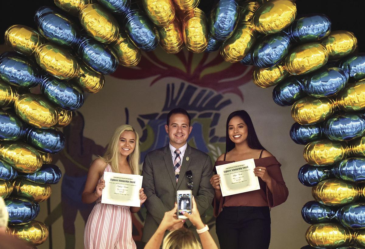 Porterville Police Explorers Scholarship winners