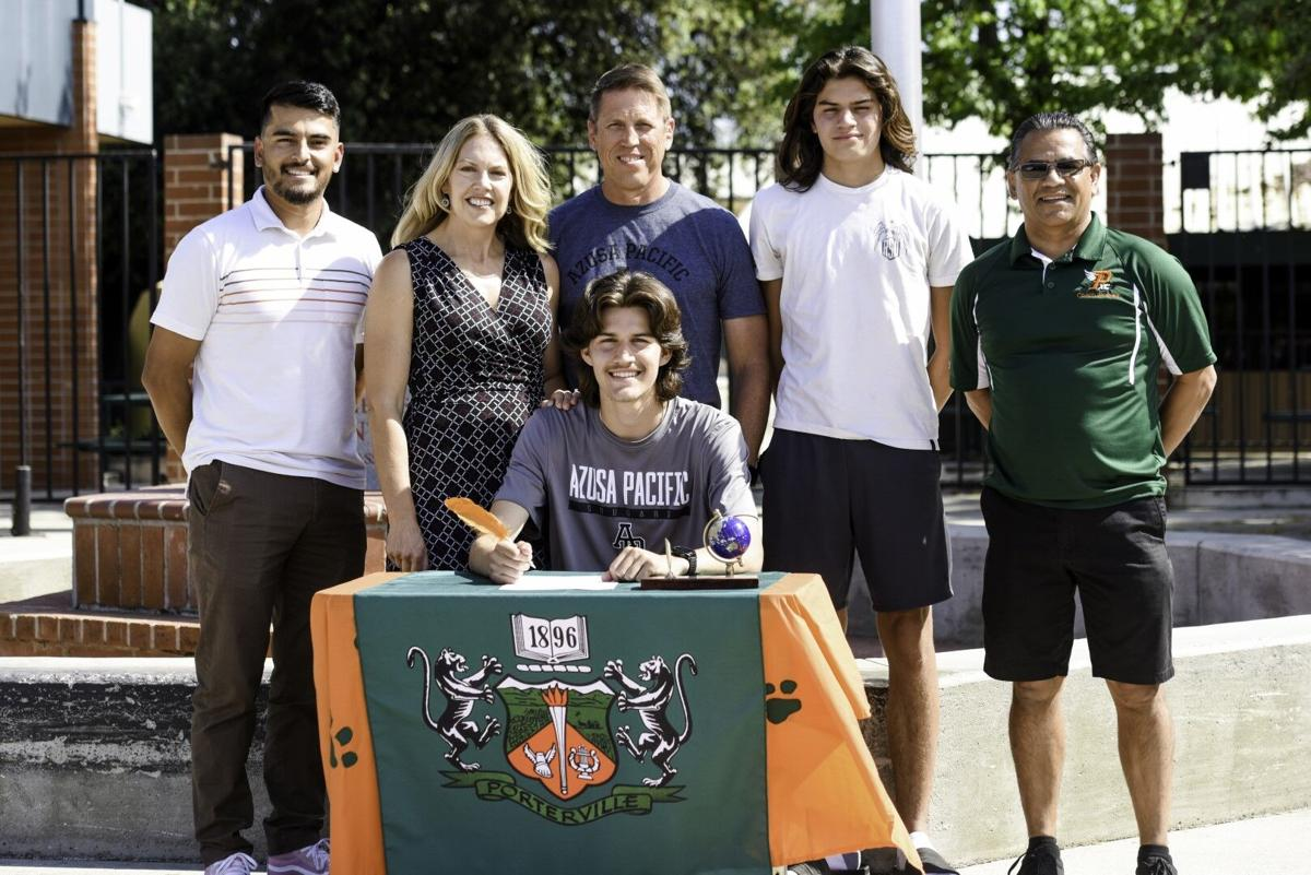 Meneses becomes a Cougar: Porterville's Joshua Meneses signs to Azusa Pacific