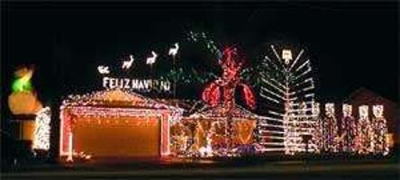 porterville home gets bigger brighter every year recorderonlinecom