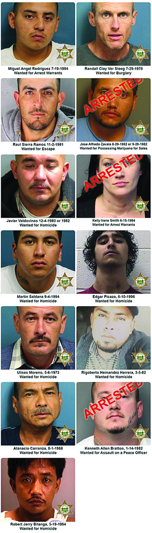 Tulare County's Top 10 Most wanted | News | recorderonline com