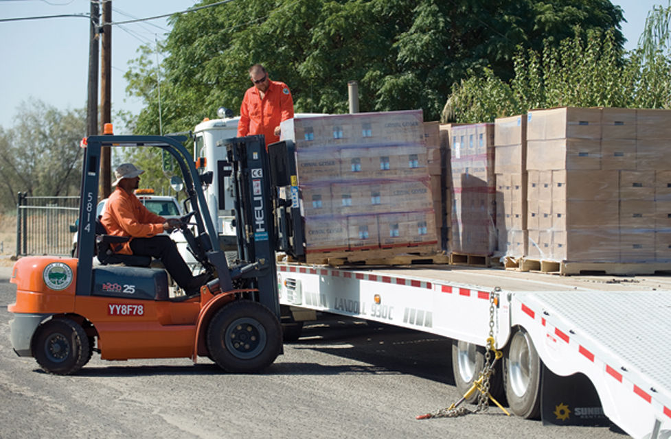 Water delivery to East Porterville