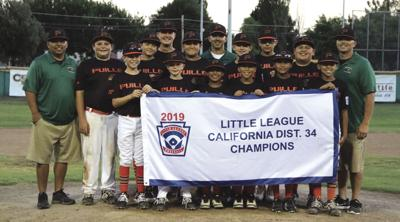 Porterville 12u All-Star District 34 champions