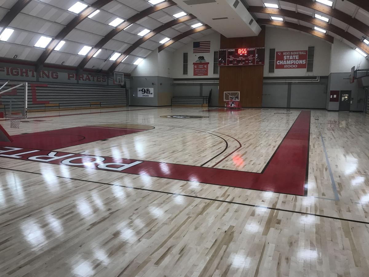 New floors for PC gym