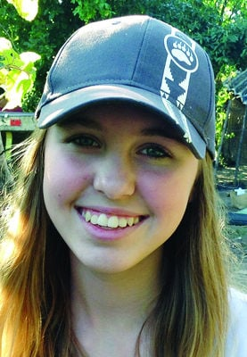 Girl helps drought relief