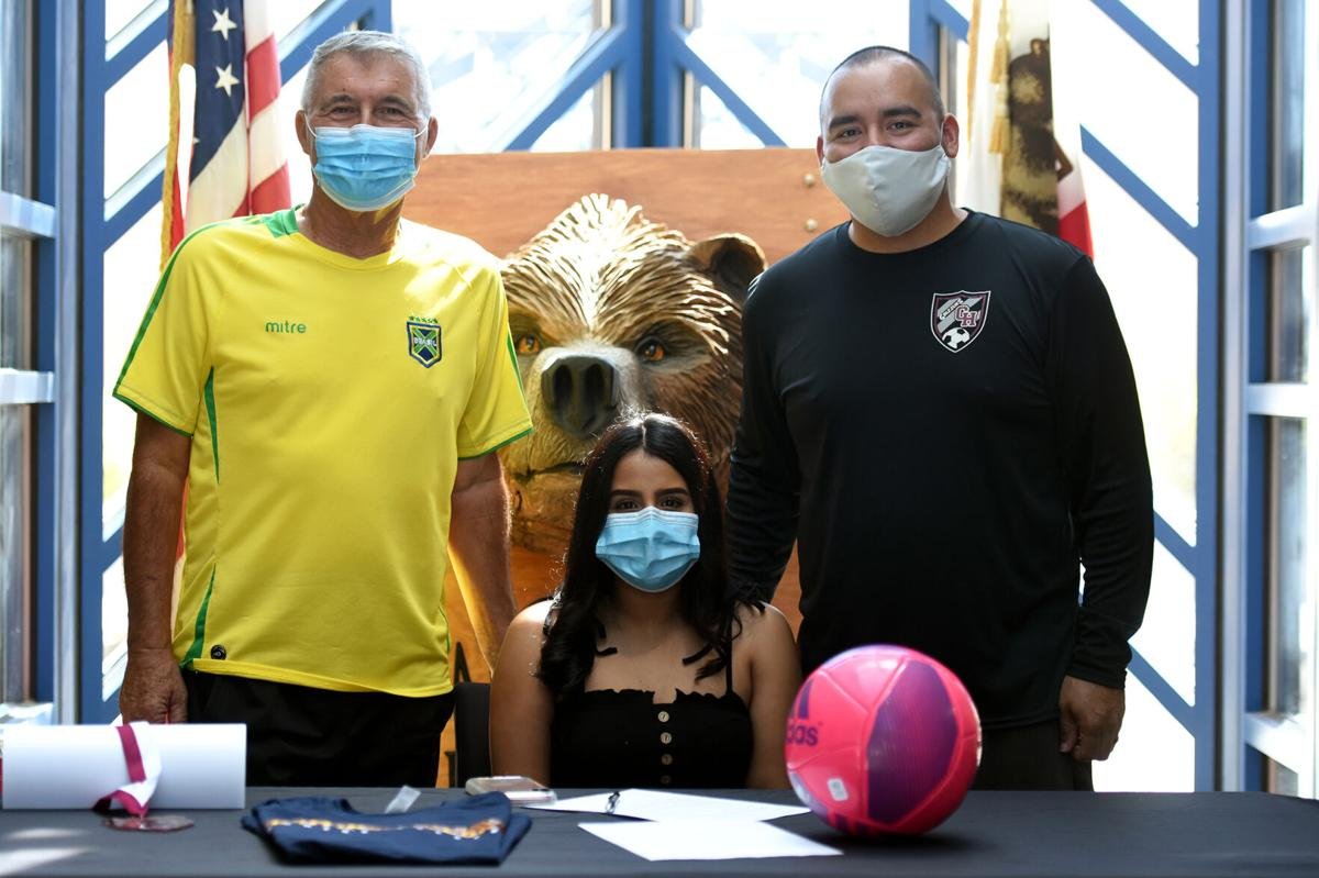 Orozco and her coaches