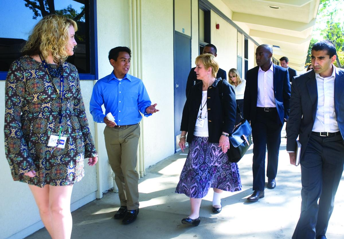 MHS receives visit from U.S. Dept. of Education policymakers