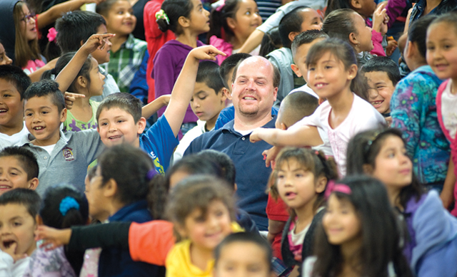 Music Laughter And Fun At Granite Hills High School