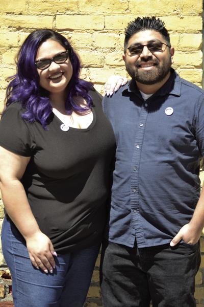 Ishmael Sanchez and his wife Laura Sanchez