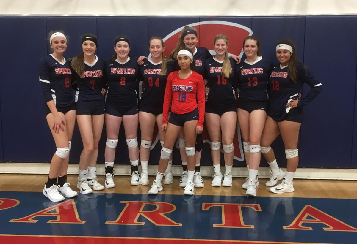 Strathmore volleyball