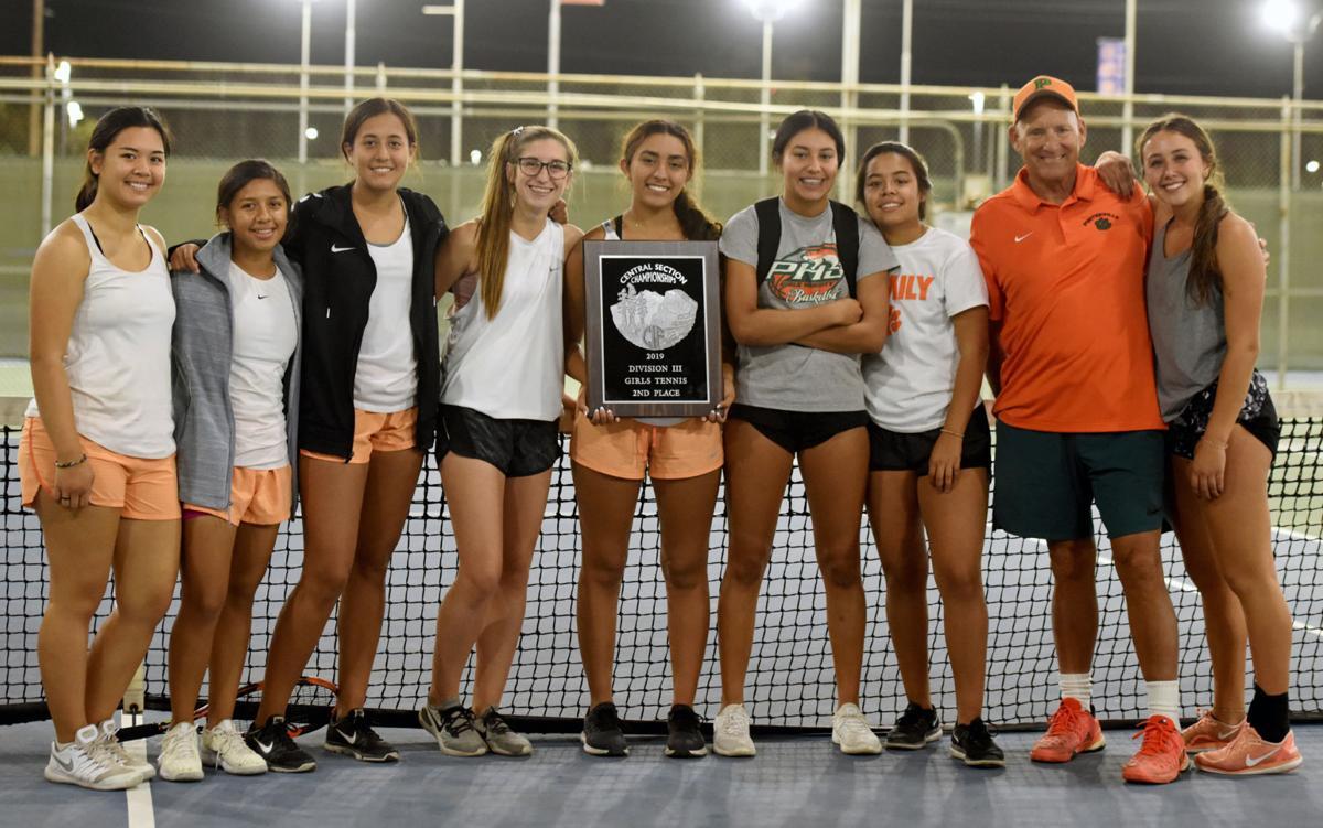 Porterville Girls Tennis