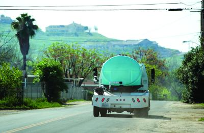 end a water delivery program