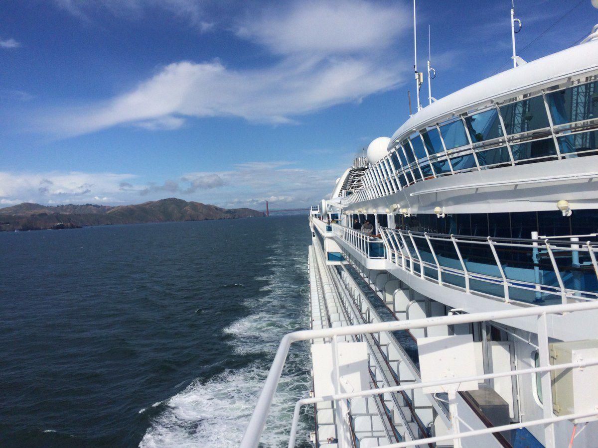 The Princess Cruise Line treats you like royalty