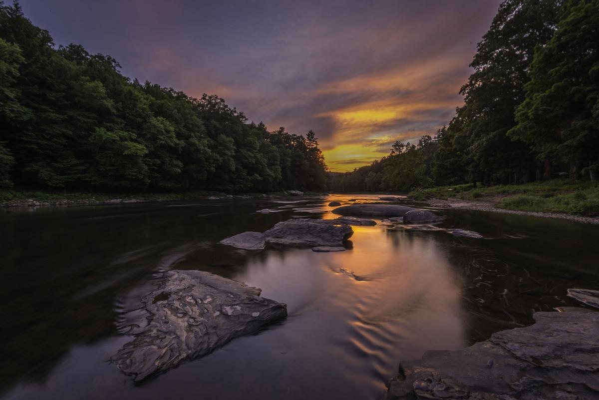 Cook Forest Clarion River sunset - Jeff London (3).jpg