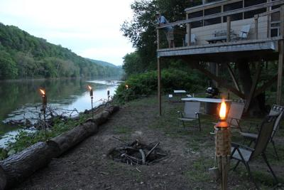 A night to remember: Sleeping in a tree house on a river island