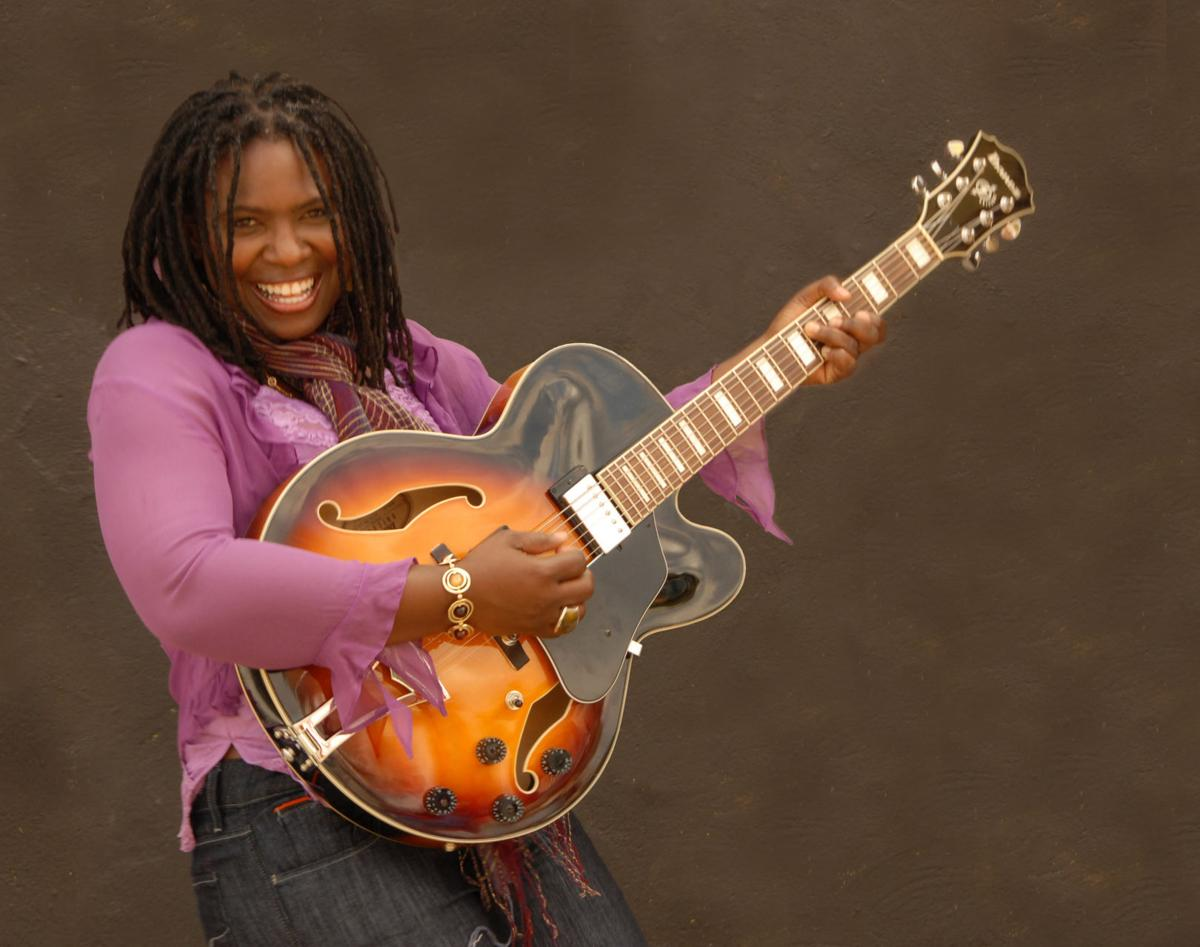 Ruthie Foster, below, will headline the Reading Blues Fest, Nov. 16–18, in Reading, Pa.