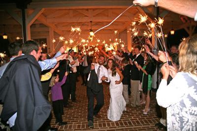 Bath County wedding