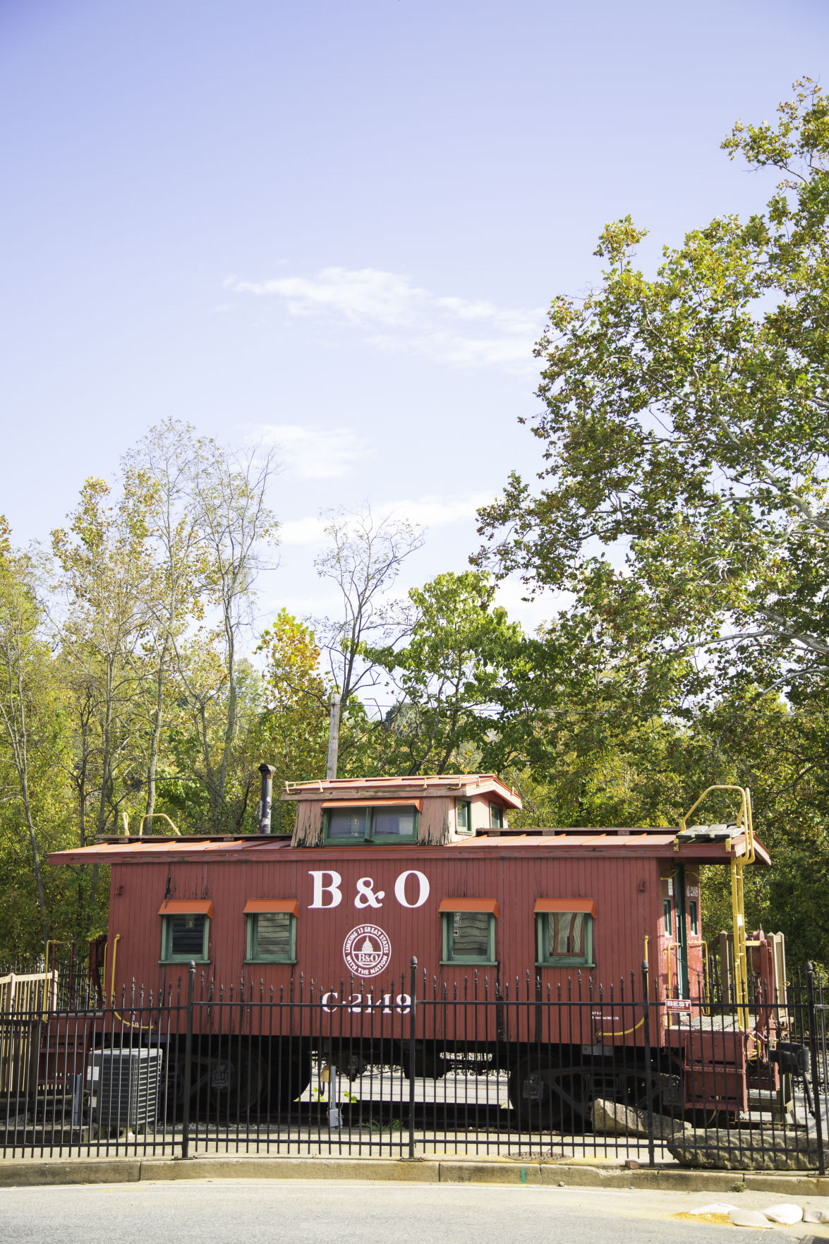 19-10 Howard BO Railroad Musuem CAboose.jpg