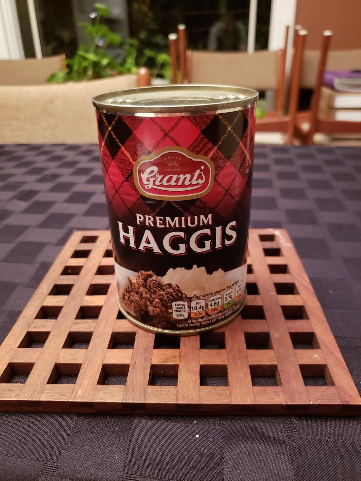 Haggis is traditionally made with cooked sheeps' pluck.