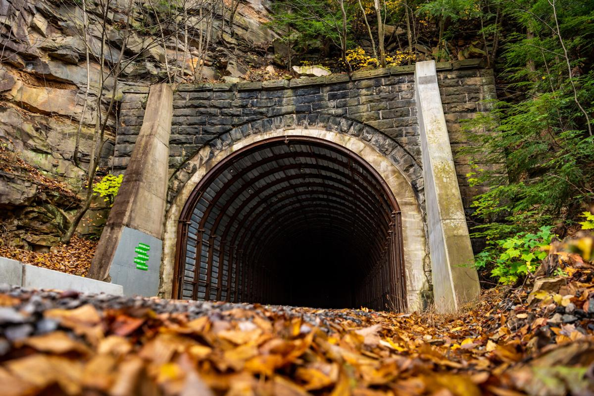 Redbank Valley Trail Climax Tunnel Fall Leaves Oct 2018 - Chris Lasher (13).jpg