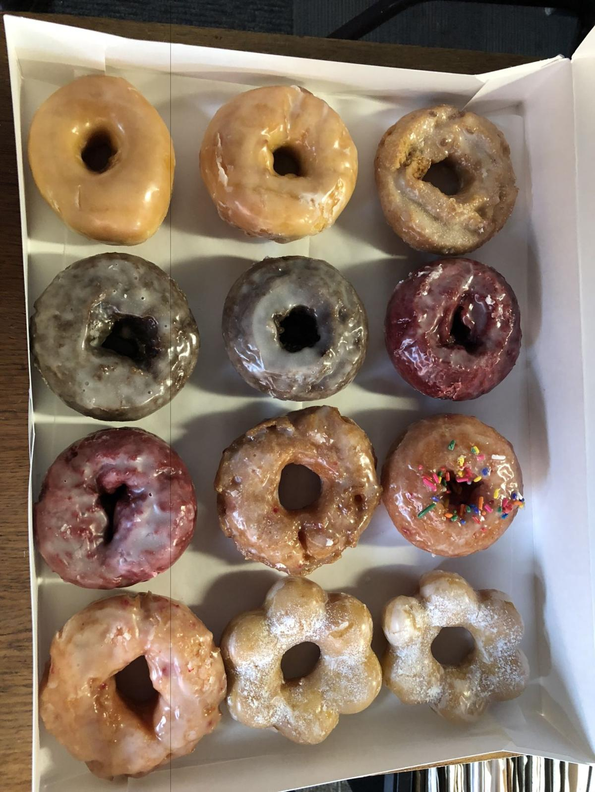 Donuts from Hilltop Deli.
