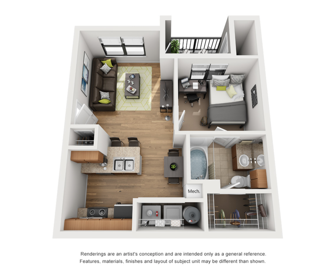 The Connection 1 br 1ba