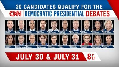 july democrats 2020 debates