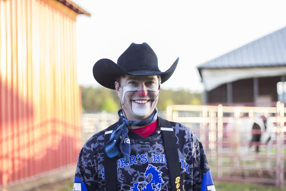 Athens Local Rodeo Clown Performs At Uga Great Southland