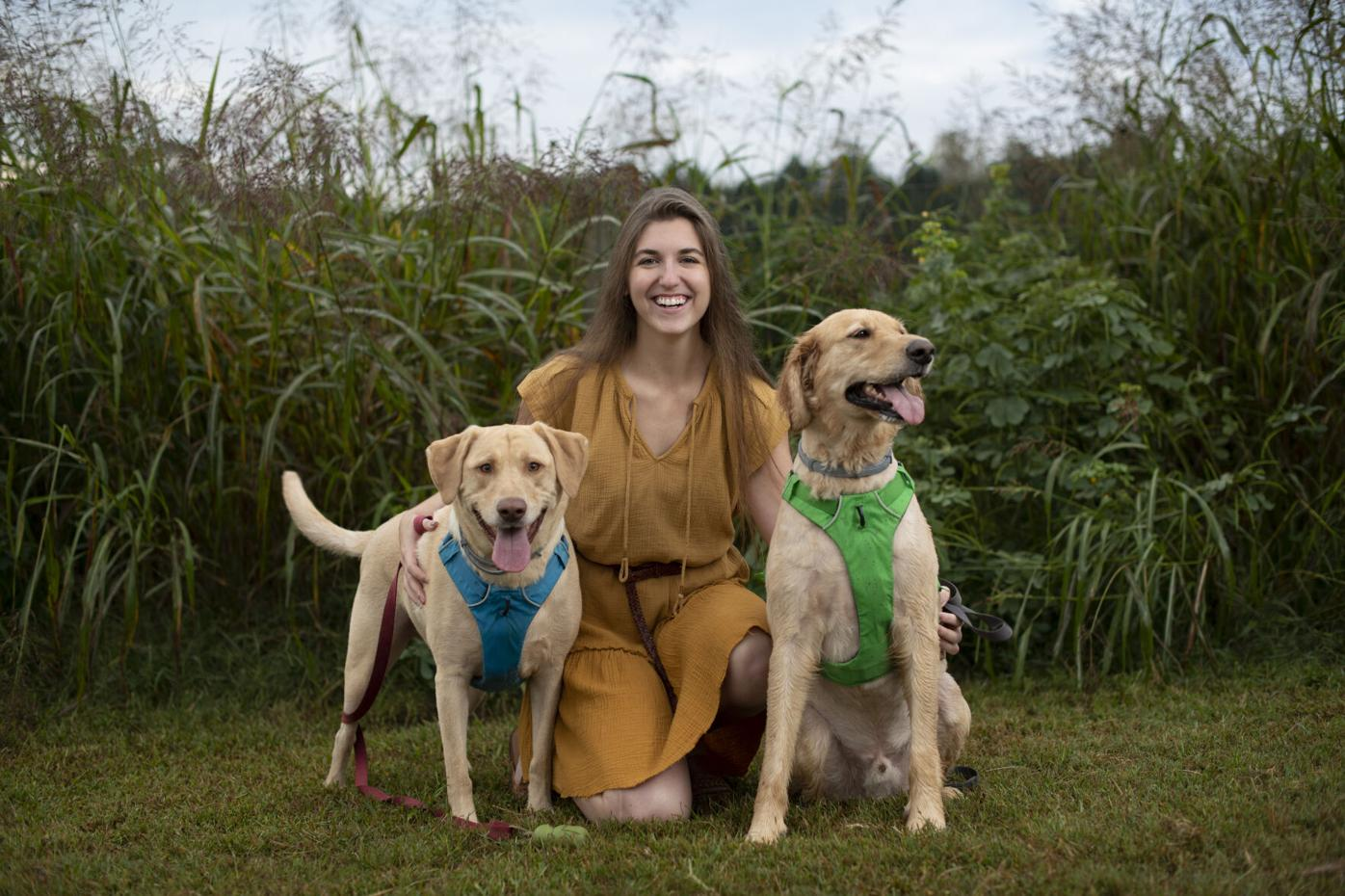 Charlotte and Dogs